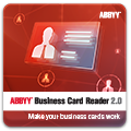 ABBYY Business Card Reader 2.0 (for Windows) (1 single user)
